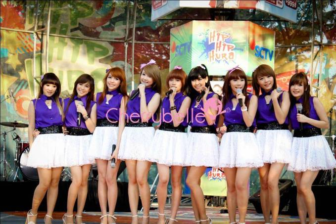 CherryBelle Indonesia :D Felly Christy Kezia Ryn Gigi Anisa Cherly Steffy Angel Chibi