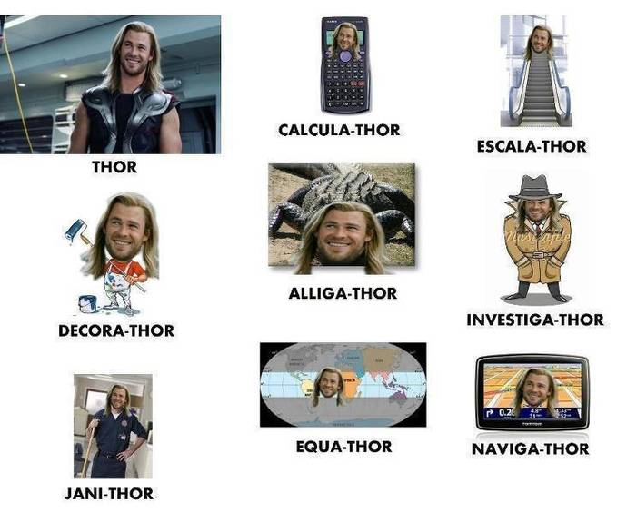 ALL ABOUT THOR