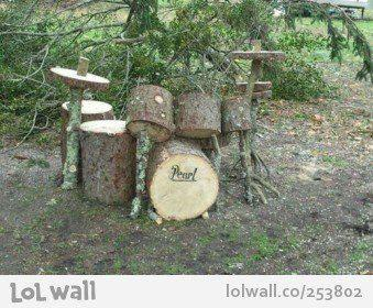 WOW... Natural Drum