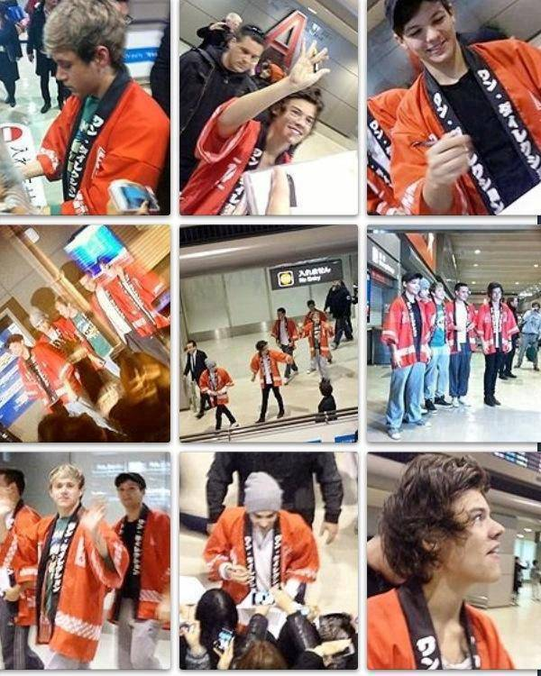 The boys are in Japan! They look so cute as always! :) They are near my country!Please come to Indonesia! ^_^