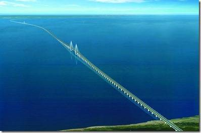 jembatan Hangzhou Bay Bridge (Cina)