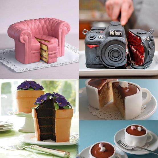 Wow, Amazing cakes, Isnt that cute? Which one do you like the most?