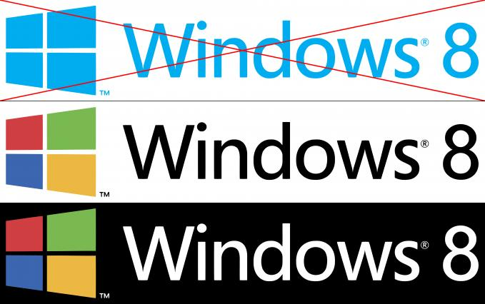 windows 8 logo redesign.. yg make win 8 silahkan klik WOW...!!