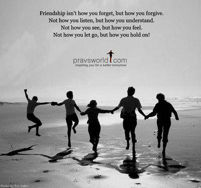 friendship are beautiful