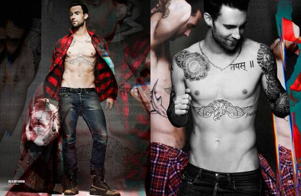 Adam Levine Sexiest Man in The World :)