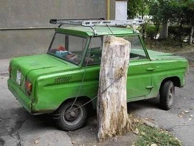 Parkir kendaraan Anda di tempat yang AMAN Jangan Lupa Wow Nya Brayy