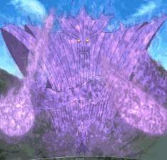 [ SUSANOO VERSI SASUKE ] © Hargai Usaha Admin Dengan Meninggalkan Like :D © Susanoo Sasuke berwarna purple di manga, sementara itu dianime digambarkan sebagai ungu Pada tahap belum lengkapnya, Susanoo nya memiliki pedang dan dalam tahap len