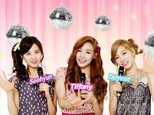 say wow for seohyun Tiffany and Taeyeon SNSD..