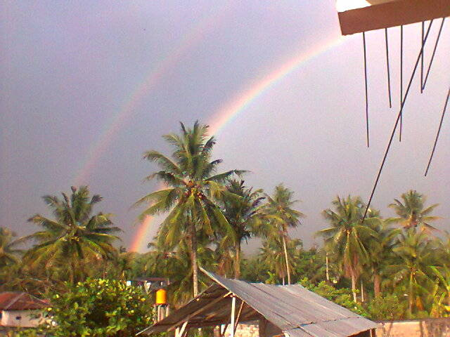 twin-Rainbow.. :D soo beautiful... ^___^