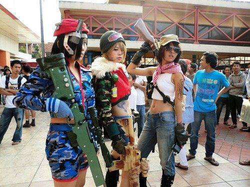 Cosplay Point Blank #1