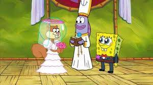 cie cie spongebob nikah sama sandy lucu dah jangan lupa wownya gan !