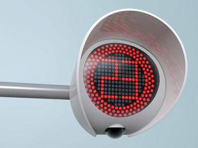 Design Baru Lampu Merah/traffic Light...WOW