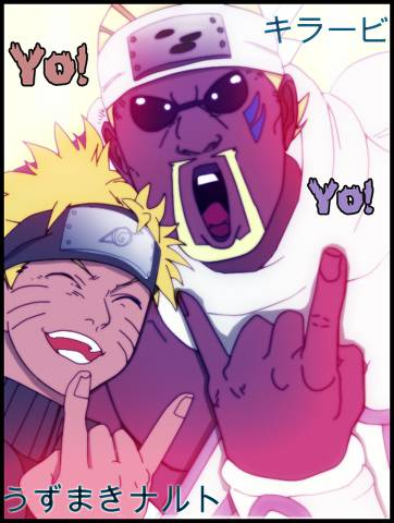 PicRequest by Stephen Fortes Sorita : Naruto and Killer Bee Geijutsu wa...Bakuhatsu da!