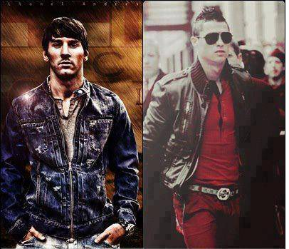 Ini dia Style nya Cristiano N Leo Messi ! Menurut kalian mana yg paling Cool ??
