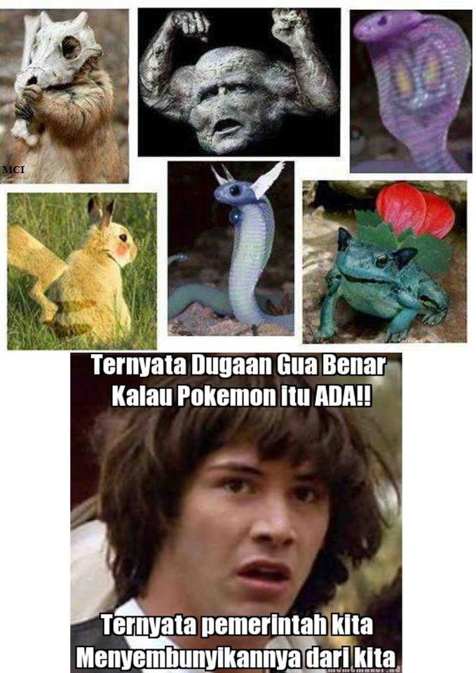 Pokemon is Real !!