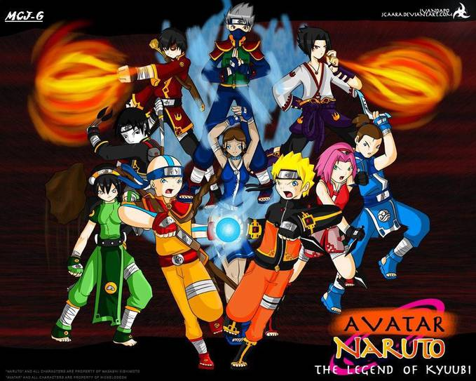 AVATAR THE LEGEND OF KYUUBI hehehe.....wow?