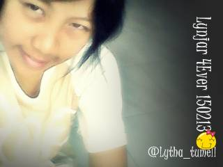 FB : Lythacwe Scorpiogirl Morganous Twitter : @Lytha_tumell add + follow me yaahh :D pngen punya temend :)