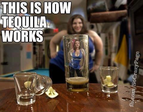 WOW...THIS IS HOW TEQUILA WORKs... Hahahaha