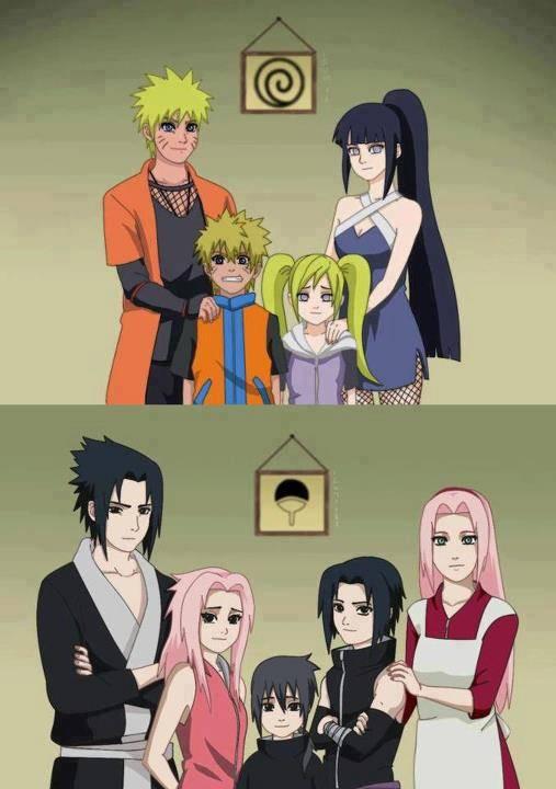 Setuju gak kalo naruto sama hinata sakura sama sasuke wow nya dulu dong