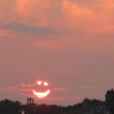 Smiley sunset(^^)/