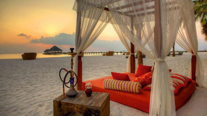 The Perfect place to relax on a beach....