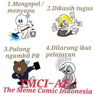 Hukuman apa yang ada di sekolahmu ?? Jangan lupa like juga : http://www.facebook.com/pages/The-Meme-Comic-Indonesia/432298156841497 Eitss jangan lupa WOWnya ya .... :D *Saya admin Disana :)