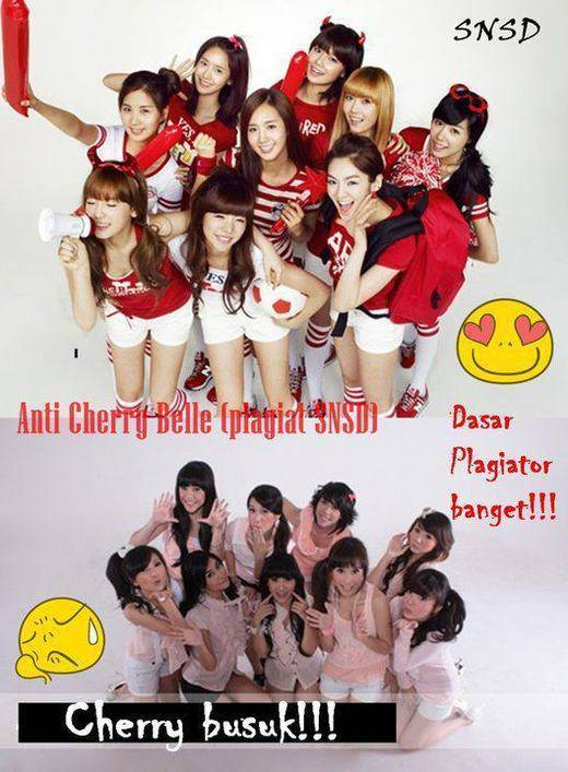 PILIH MANA? SNSD LIKE + COMENT CHERRYBELLE LIKE