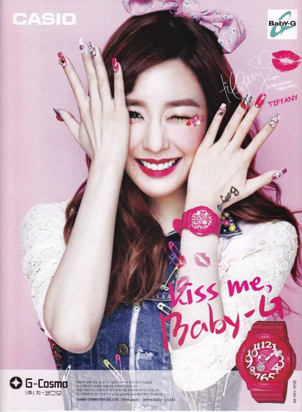 [SCAN/CF] Tiffany SNSD for Casio Kiss Me Baby-G Volume 2
