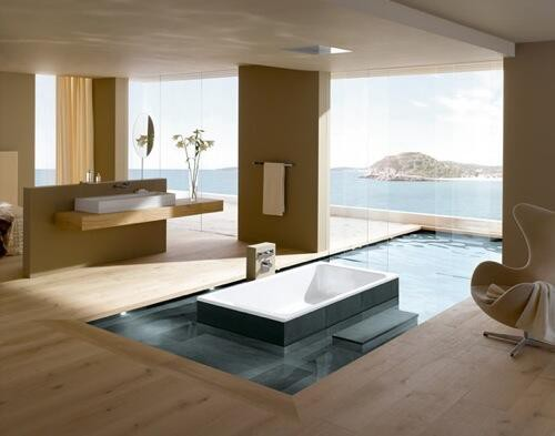 This is a bathroom.. :) you want to have bathroom like this? WOW !!