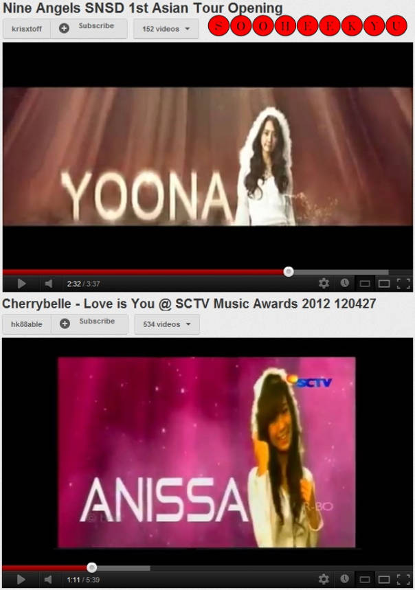 PULSKERS! pilih yg mana? Annisa=> WOW YoonA=> Coment