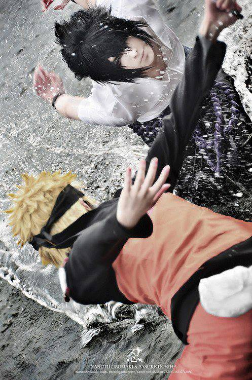 Naruto and Sasuke Cosplay !