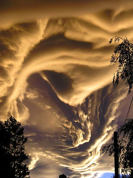 Wow !! Cool Cloud Picture