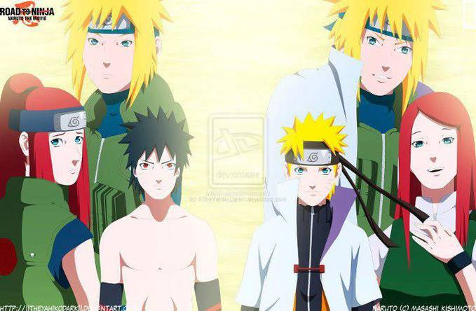 This is a family Menma and Naruto Wow please :)