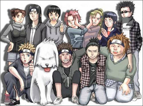 NARUTO AND FRIEND