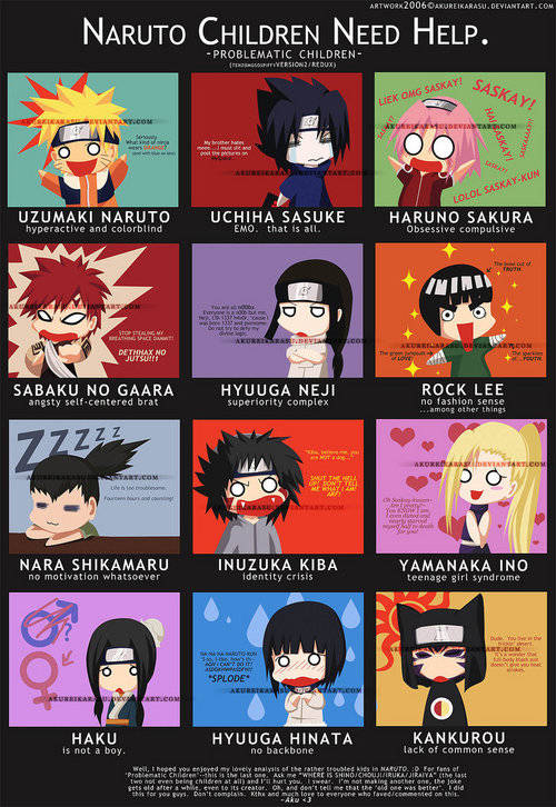 NARUTO AND FRIEND CHILDREN