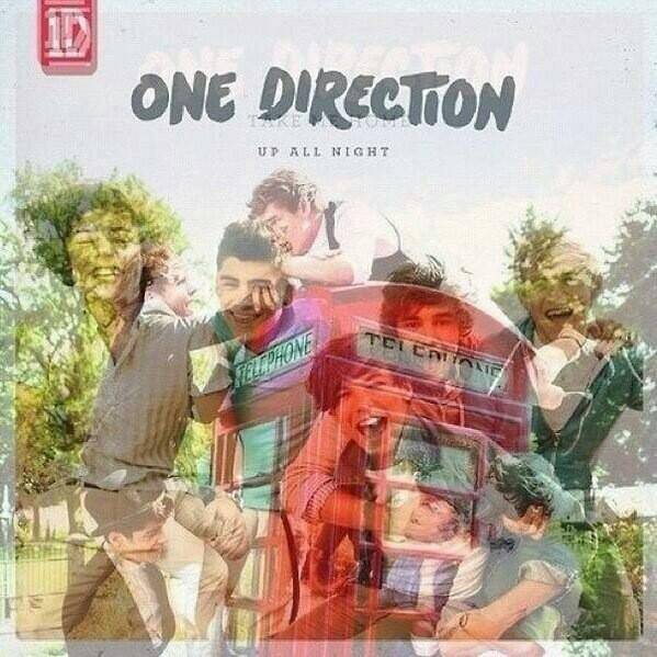 album One Direction : Up All Night and Take Me Home