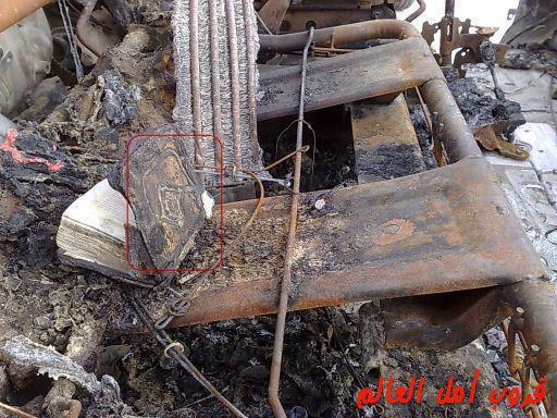 SUBHANALLAH..! Al-Quran tidak dijilat api meskipun hampir keseluruhan van terbakar.. ALLAHU AKBAR.!!! jangan lupa WOWnya ya sobat