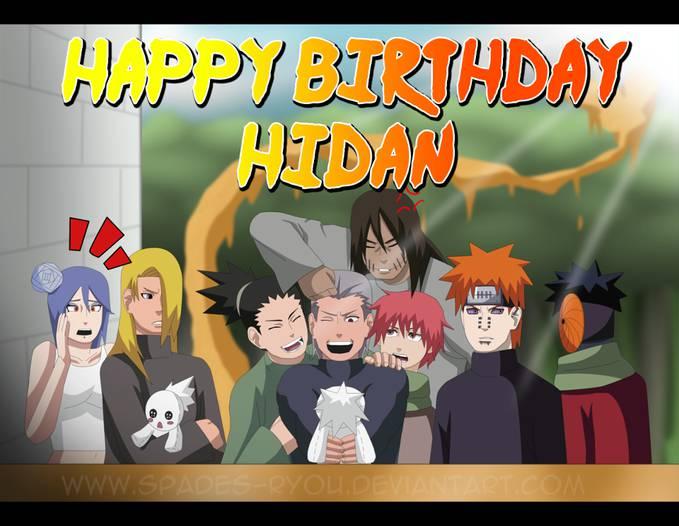 Happy Birthday Hidan !! . ternyata Hidan ulang tahun hari ini !! :D
