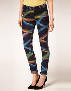 Jeans cantik warna-warni