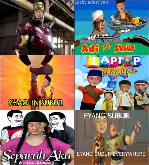 Mainstream dah si Eyang Subur