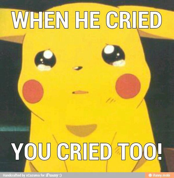 If He Cried You Cried too. bener gk yahh ?????