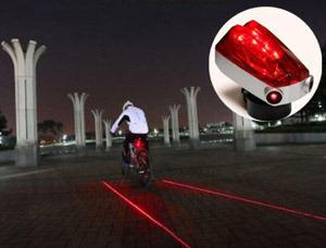 Lane Light Cycle: this is designed to be seen by traffic and also to encourage drivers to give you space on the roads.