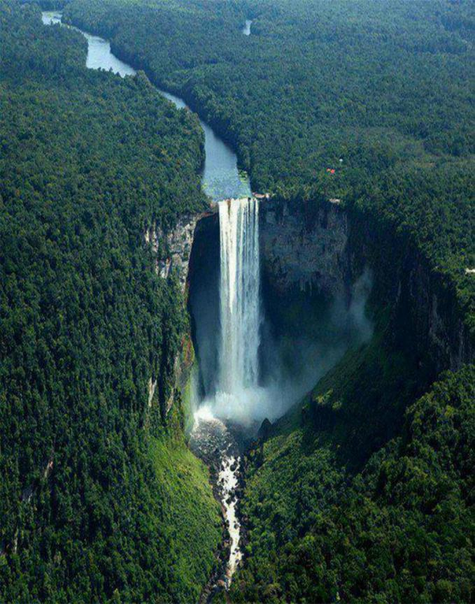 Here is a Kaieteur Falls