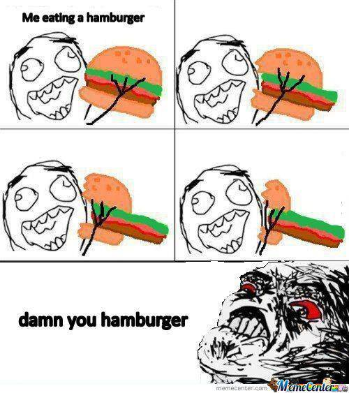Damn You Hamburger!