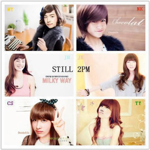 Who is the prettiest here? 2pm in girl style
