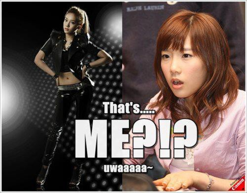 Yes! Thats you Taeyeon