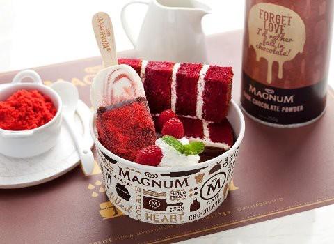 woooowww .. enak banget nih es krim nya ... hmmmm sore2 gini mantep nih makan es krim magnum ... ada yg mau ? :)