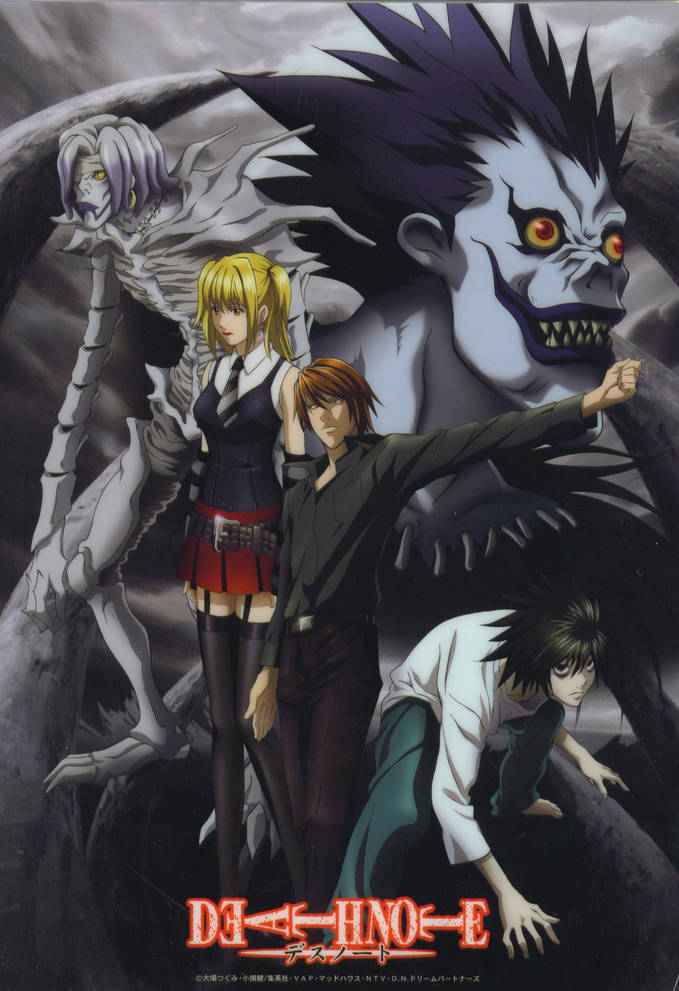 disini ada pulsker yang suka anime Death Note? kalo suka mana WOW nya :D ??