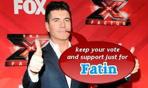 keep your vote and support just for fatin..