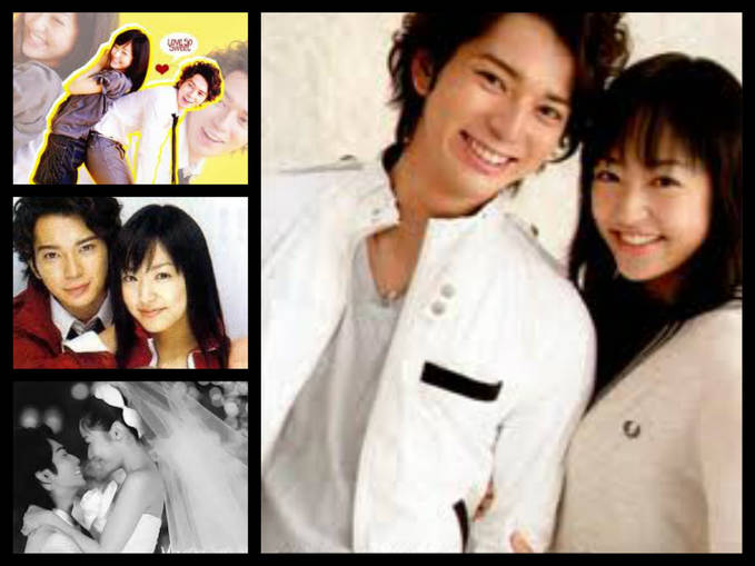 Pemeran Hana Yori Dango : Jun Matsumoto dan Inoue Mao